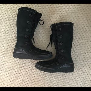717c5ce470b3 Ugg Black Tall lace up boots-12